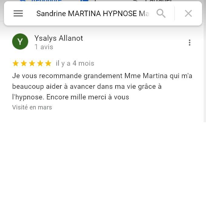 Avis sandrine martina mars 2021 2