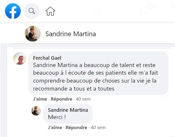 Avis sandrine martina pages jaunes 8 juin 2020 facebook 1