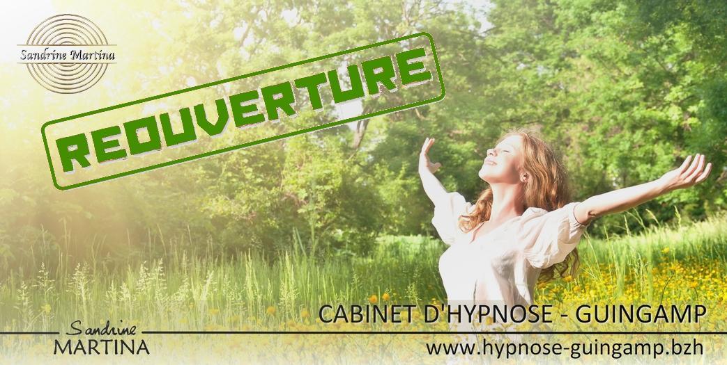 Hypnose guingamp reouverture 11 mai